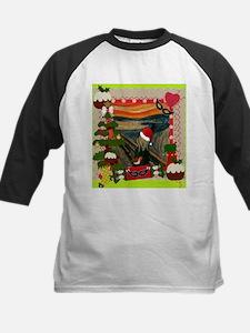 the scream christmas Baseball Jersey
