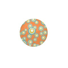 Retro Bulls Eye Spots Mini Button