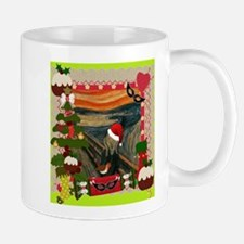 the scream christmas Mugs