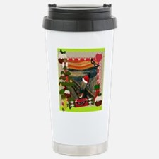 the scream christmas Travel Mug