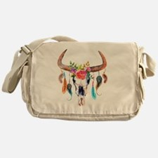 Cute Skull Messenger Bag