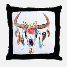 Cute Tribal Throw Pillow