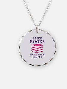 I Like Books Necklace