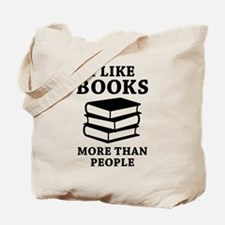 I Like Books Tote Bag