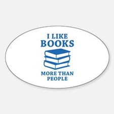 I Like Books Decal