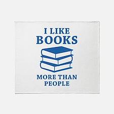 I Like Books Stadium Blanket