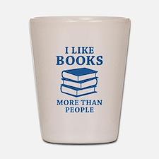 I Like Books Shot Glass