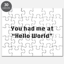 You Had Me At Hello World Puzzle