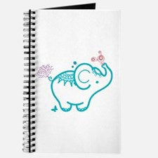 Cute Lined animals Journal