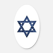 Cool Jew Oval Car Magnet