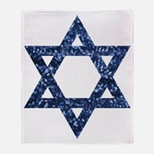 Unique Star of david Throw Blanket