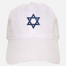 sequin star of david Baseball Baseball Cap