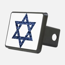 sequin star of david Hitch Cover