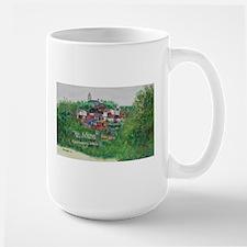 Mt. Adams - Cincinnati, Ohio, trendy art comm Mugs