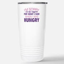 I'm Sorry For What I Said Ceramic Travel Mug