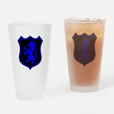 L.E.O. Shield Drinking Glass