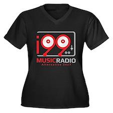 Main i99MusicRadio Logo Plus Size T-Shirt