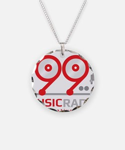Cute Radio station Necklace