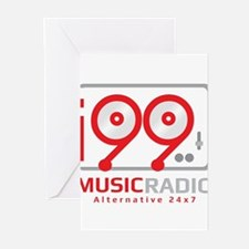 Unique Radio station Greeting Cards (Pk of 10)
