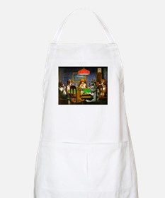 Dogs Playing Poker BBQ Apron
