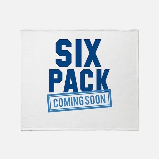Six Pack Coming Soon Stadium Blanket