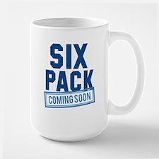 Six Pack Coming Soon Large Mug