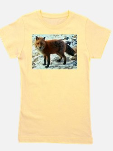 Unique Red fox Girl's Tee