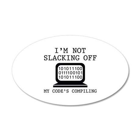 im not slacking off 22x14 oval wall peel 1696282747 on special housewarming gifts