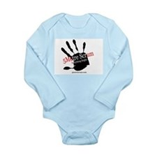 Funny Scrum Long Sleeve Infant Bodysuit