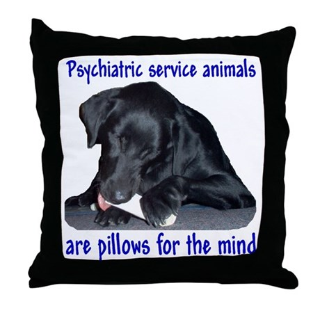 """Pillow for the Mind"""" Throw Pillow"