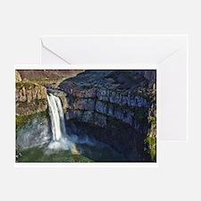 Cute Falls Greeting Card