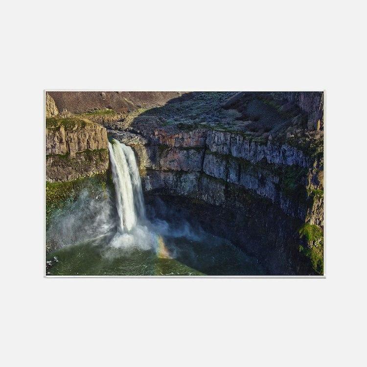 Cute Waterfalls Rectangle Magnet