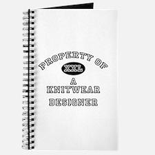 Property of a Knitwear Designer Journal
