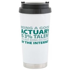Unique Be a actuary Thermos Mug