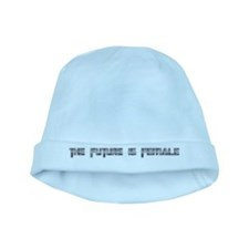 the future is female baby hat
