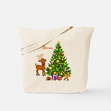 Shinny Christmas Tote Bag