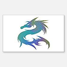 Dragon 1 - Rectangle Decal