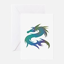Dragon 1 - Greeting Cards (Pk of 10)