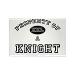 Property of a Knight Rectangle Magnet (10 pack)