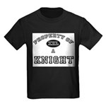 Property of a Knight Kids Dark T-Shirt