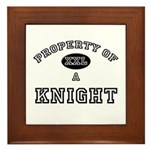 Property of a Knight Framed Tile
