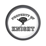 Property of a Knight Wall Clock