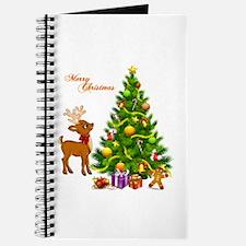 Shinny Christmas Journal