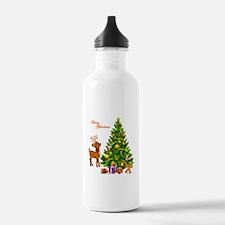 Shinny Christmas Water Bottle
