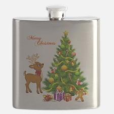 Shinny Christmas Flask