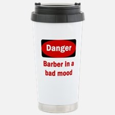 Cute Barber shop Travel Mug