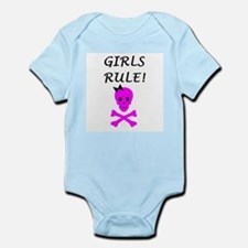 GIRLS RULE Infant Bodysuit