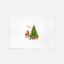 Shinny Christmas 5'x7'Area Rug