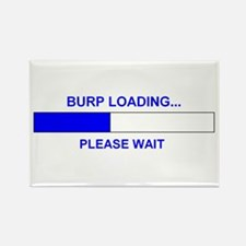 BURP LOADING... Rectangle Magnet