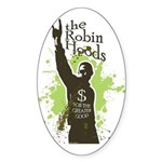 Robin Hoods Oval Sticker